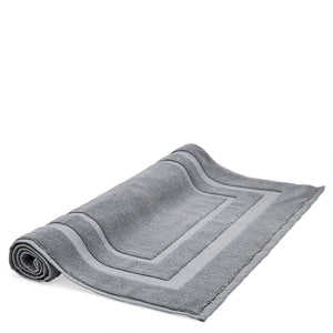Perennial Bath Mat in Charcoal For Sale