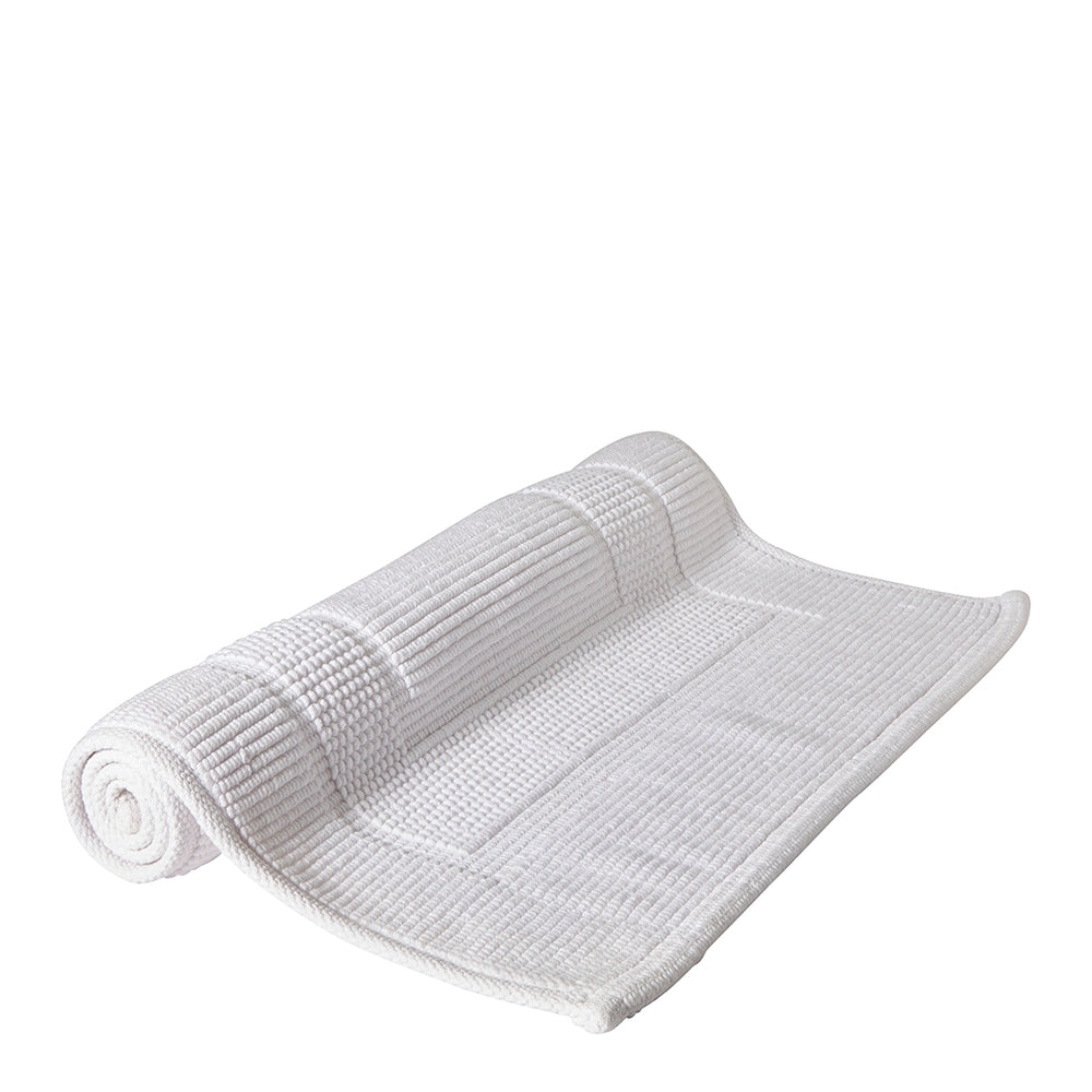 "Perennial Bath Rug 21"" x 34"" in White"