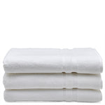 Perennial Cotton Sheet Towel in White