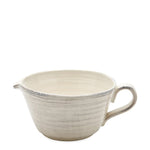 Waterworks Pesa Small Bowl with Spout in Cream