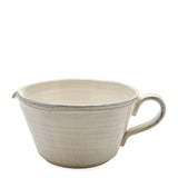 Waterworks Ceramic Pitcher in Cream