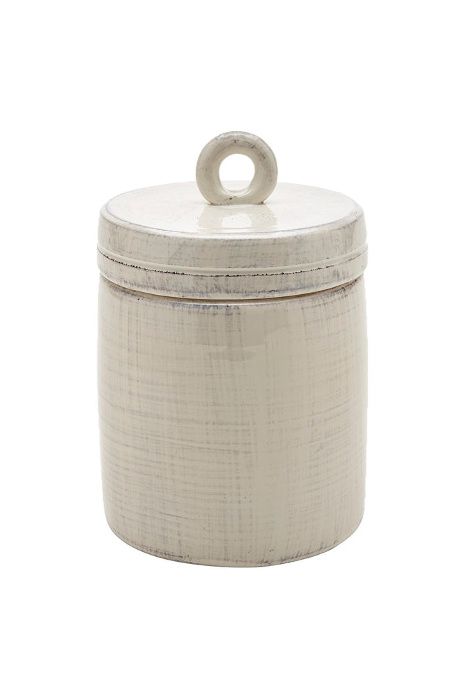 Waterworks Pesa Small Canister in Cream