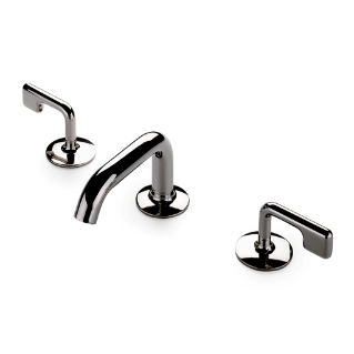 Waterworks .25 Low Profile Lavatory Faucet with Lever Handles in Chrome