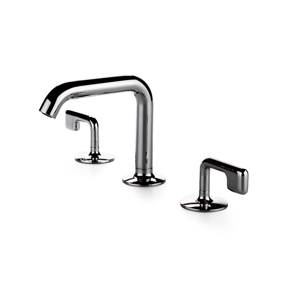 Waterworks .25 High Profile Lavatory Faucet in Nickel