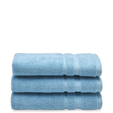 Waterworks Perennial Cotton Hand Towel in Light Blue