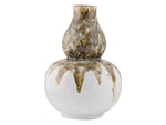 Kravet Katarina Drip Vase in Brown / White