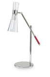 Kravet Lustro Table Lamp in Nickel