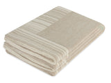 Kravet Comodo Wool / Cashmere Throw in Beige