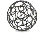Kravet Circe Small Wire Orb in Bronze