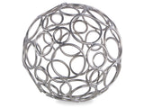 Kravet Circe Small Wire Orb in Nickel