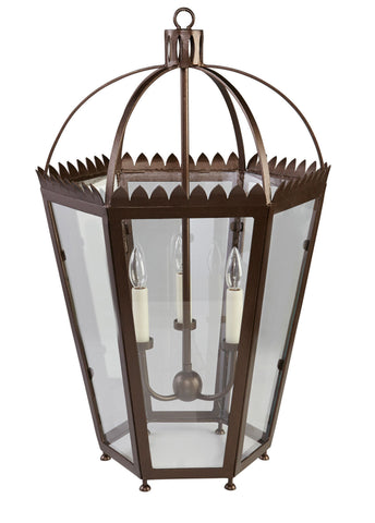 Kravet Vaucluse Iron Chandelier in Bronze