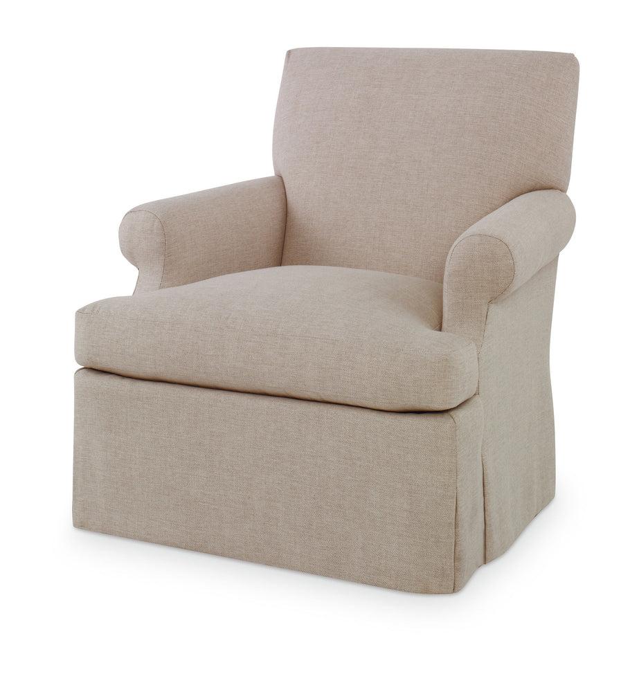 Kravet Mullen Arm Chair in Tan