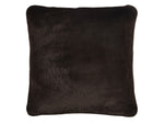 "Kravet Aurore 20"" Pillow Cover in Dark Brown"