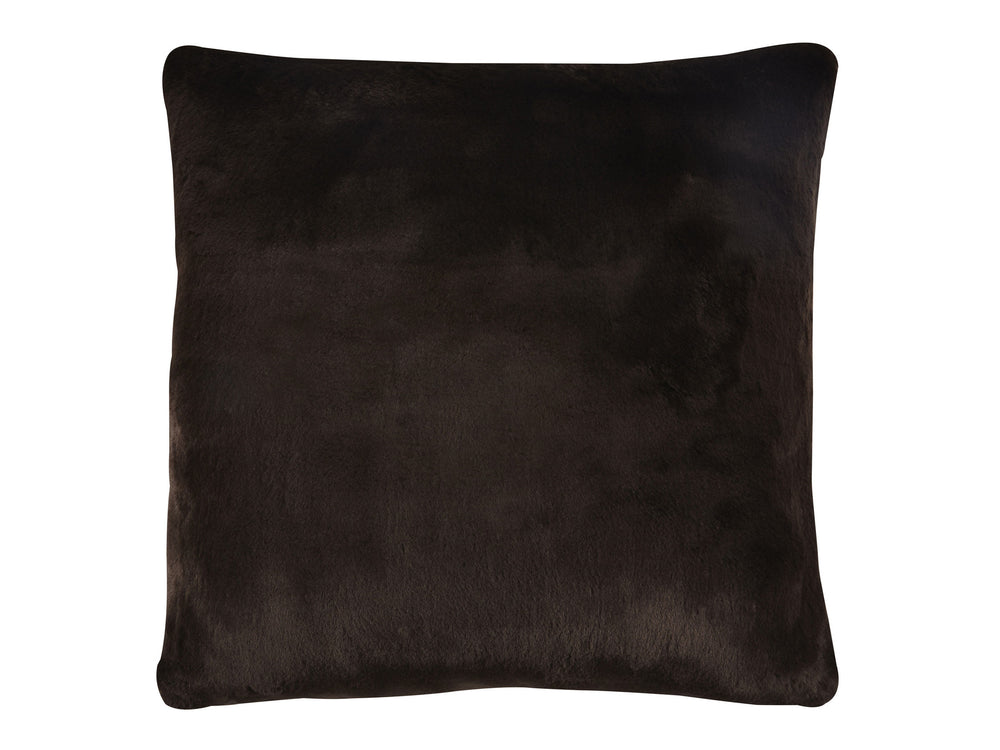 "Kravet Aurore 27"" Pillow Cover in Dark Brown"