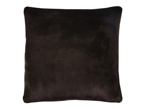 "Kravet Aurore 27"" Pillow Cover in Dark Brown For Sale"