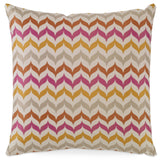 Kravet Adler Pescara Pillow in Pink