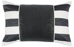 Kravet Alex Collage Pillow Cover in Black