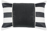 Kravet Alex Collage Pillow in Black
