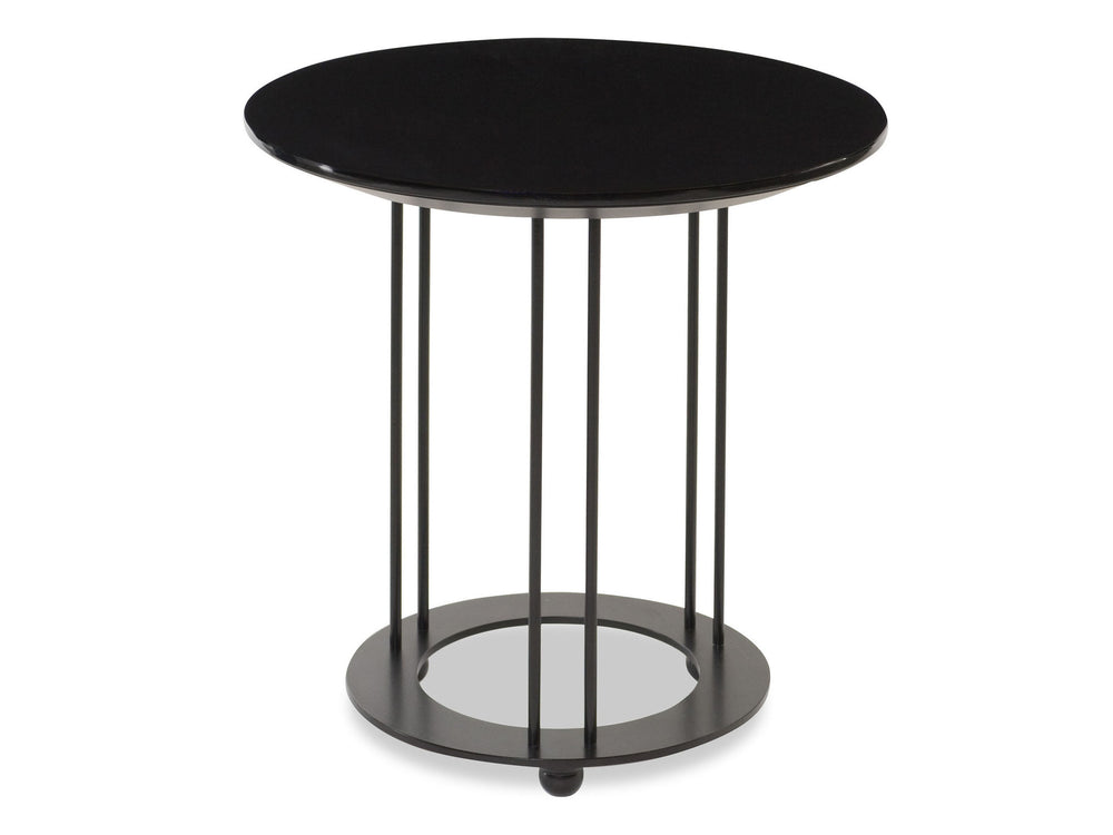 Kravet Omega Iron Table in Black