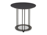 Kravet Omega Iron Table in Dark Gray