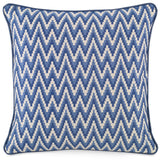 Kravet Adler Soria Pillow in Blue