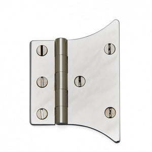 "Waterworks Salem 3"" Hinge in Matte Nickel"