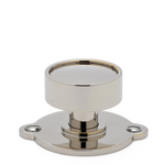 "Waterworks Tumbler 1 1/2"" Knob in Burnished Nickel"