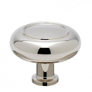 "Waterworks Steward 1 1/2"" Knob in Chrome"