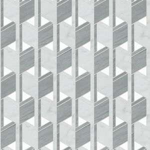 Waterworks Studio Express Opti Mosaic in Gray/White