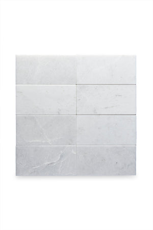 "Waterworks Studio Stone Field Tile 3"" x 6"" x 3/8"" in Alpina Polished"