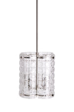 Waterworks Torrey Ceiling Mounted Large Pendant in Nickel