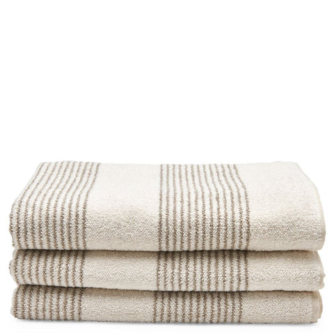 Tasha Bath Towel in Cream
