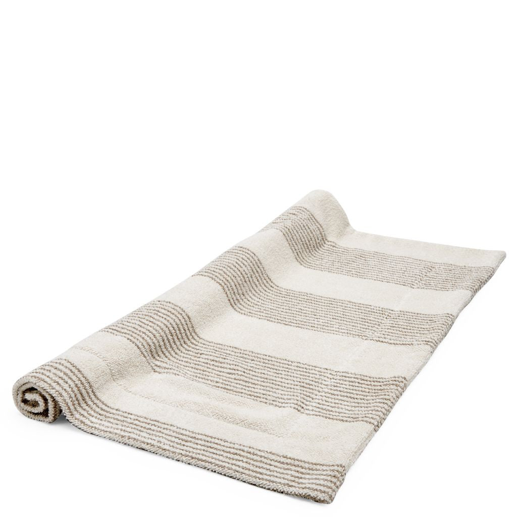 charming Waterworks Bath Mats Part - 18: Waterworks Tasha Bath Mat in Cream
