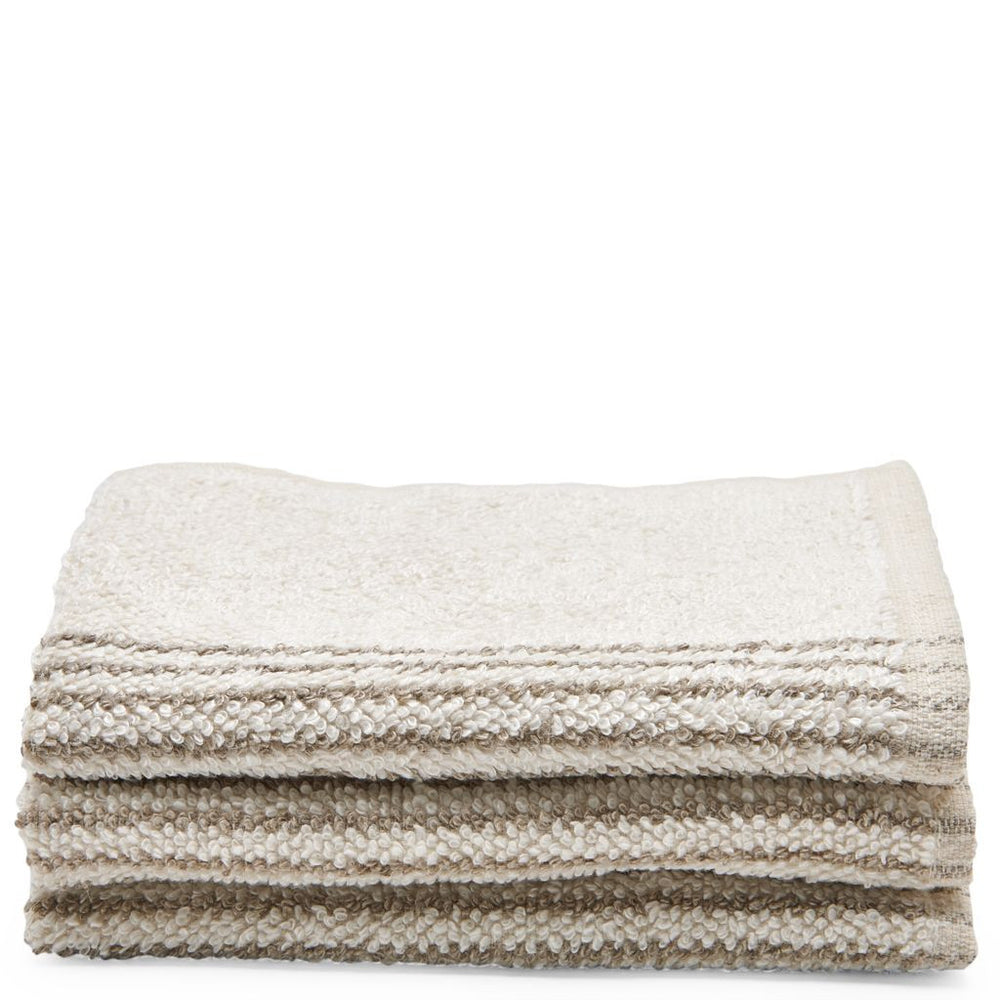 Waterworks Tasha Wash Towel in Cream