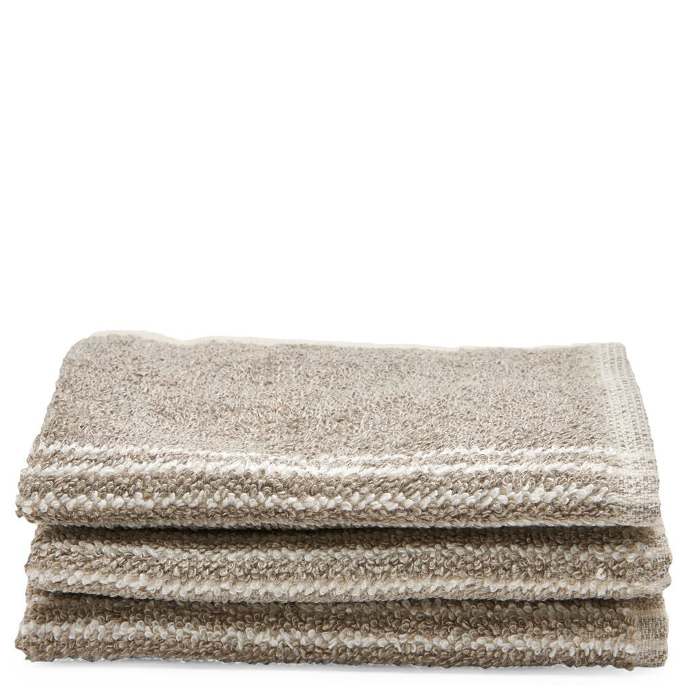 Waterworks Tasha Wash Towel in Tan