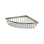 Waterworks Universal Wall Mounted Large Corner Soap Basket in Matte Black