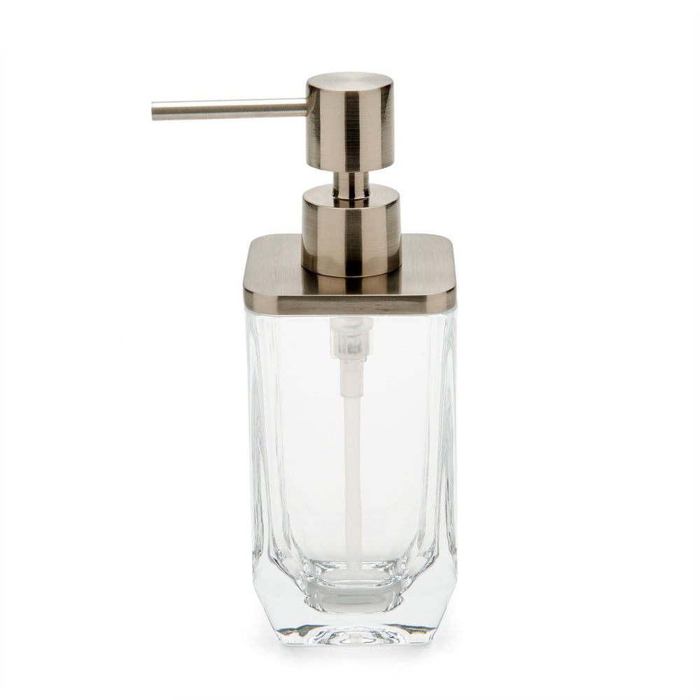 Waterworks Vista Soap Dispenser in Clear