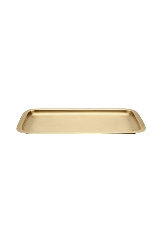 Waterworks Wallingford Tray in Brass