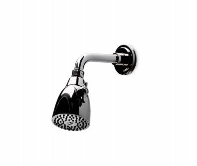 "Waterworks Aero 2 3/4"" Shower Head, Arm and Flange in Brushed Nickel"