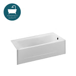 Waterworks Durham II Apron Bathtub in White