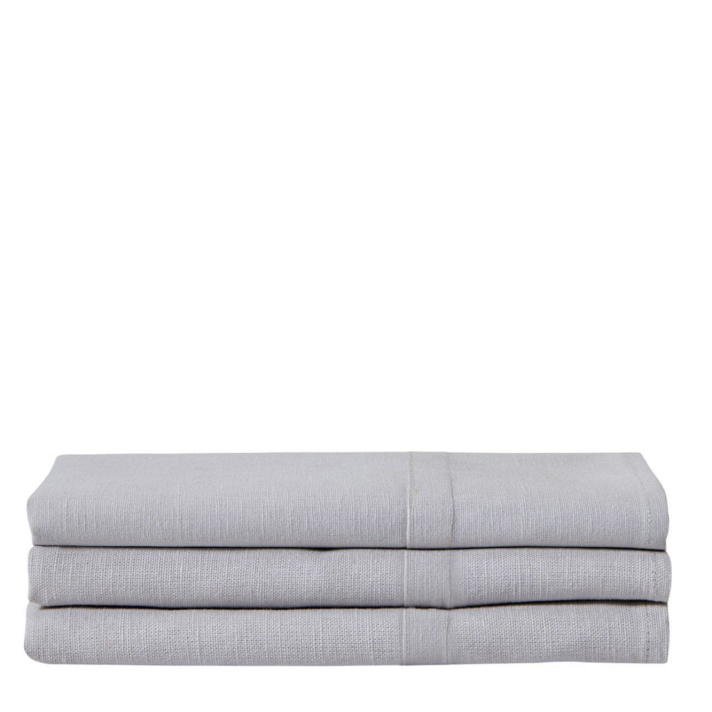 Waterworks Maeve Linen and Cotton Guest Towel in Ashe