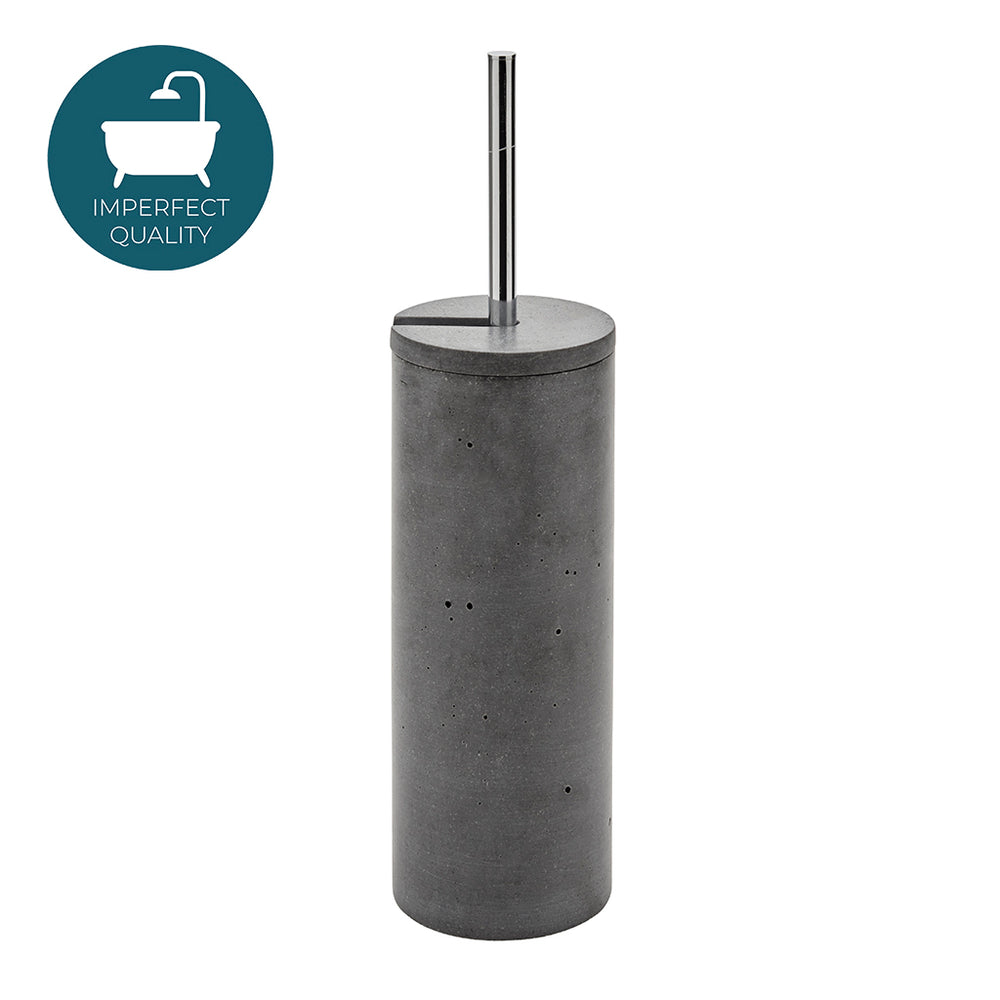 Waterworks Bowery Toilet Brush and Holder in Graphite