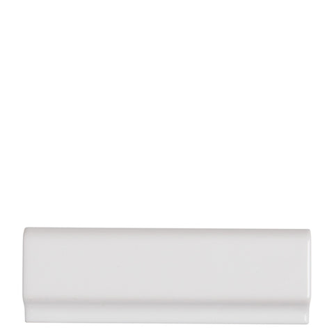 Waterworks Campus Square Rail 2 x 6 in White Glossy