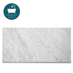 "Waterworks Keystone Field Tile 12"" x 24"" in Carrara Honed"