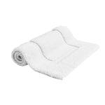 "Waterworks Cella Overwoven Bath Rug 25"" x 72"" in White"