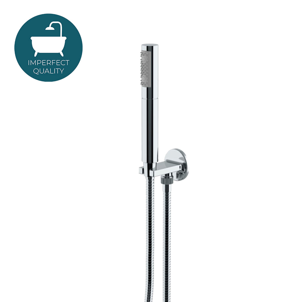 Waterworks Formwork Handshower on Hook with Metal Handle in Chrome For Sale Online