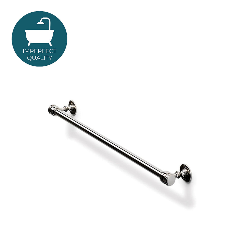 "Waterworks Crystal 18"" Towel Bar in Nickel"