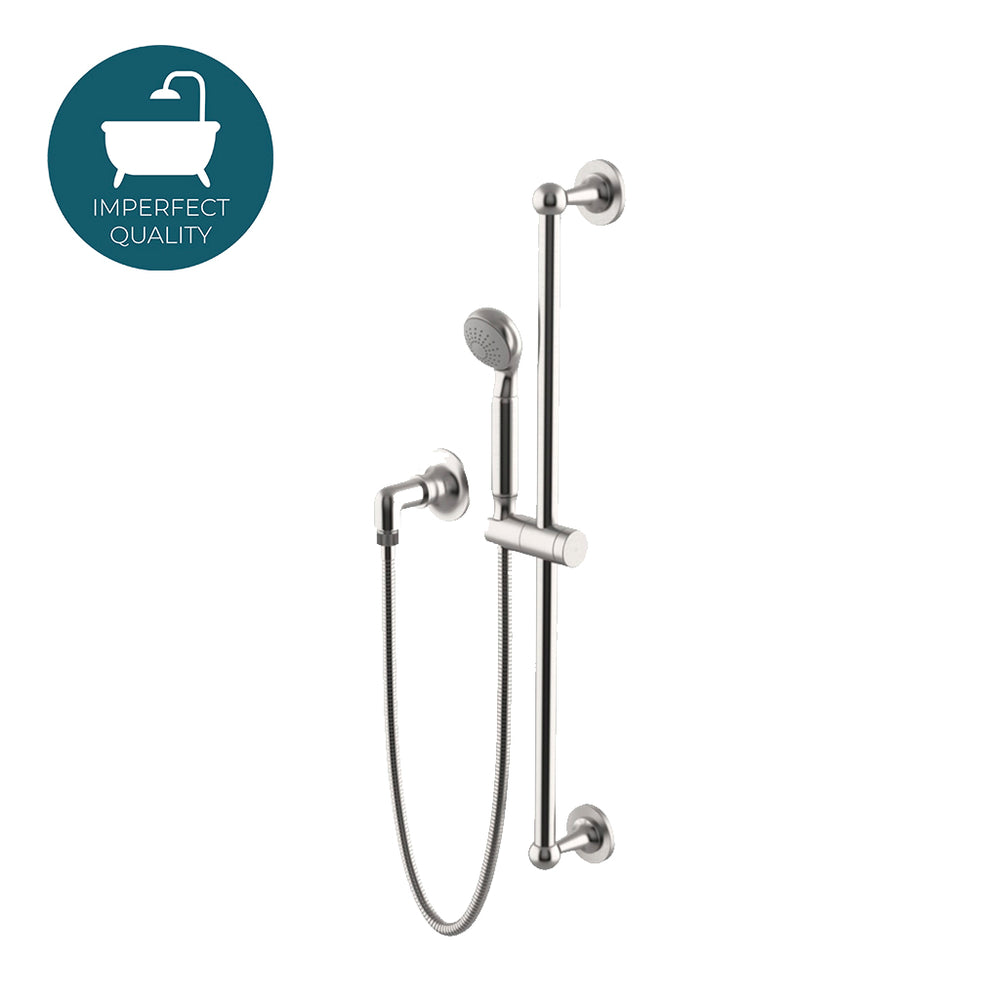 Waterworks Dash Handshower on Bar in Matte Nickel