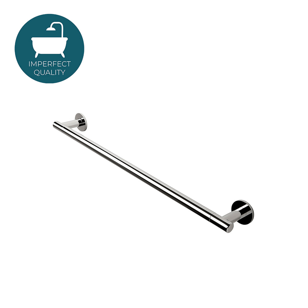"Waterworks Decibel 24"" Metal Towel Bar in Chrome"