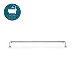 "Waterworks R.W. Atlas 14"" Dish Towel Bar in Nickel"
